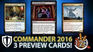 Cruel Entertainment + 2 more COMMANDER 2016 Preview Cards! | #128