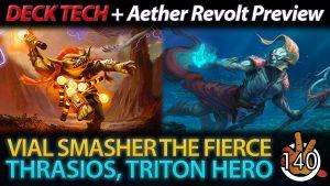 RISHKAR'S EXPERTISE + Vial Smasher & Thrasios Deck Tech | #140