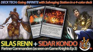 Silas Renn + Sidar Kondo Deck Tech   #145