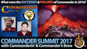 Commander Summit 2016 with Commanderin' & Commander's Brew | #147