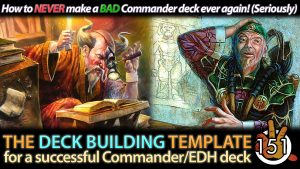 The Commander Deck Building Template | #151