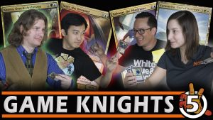 Melissa DeTora and The Professor Battle it OUT! l Game Knights #5