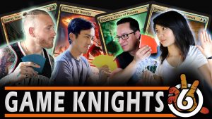 New AMONKHET Commander Gameplay with NFL Player Cassius Marsh & Mel Li | Game Knights #6