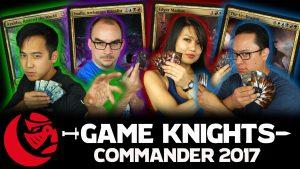 Commander 2017! Ur-Dragon, Edgar Markov, Arahbo, and Inalla l Game Knights #9