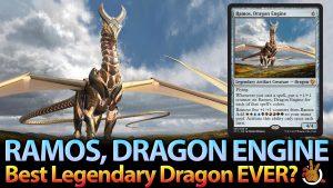 IXALAN MYTHIC: Axis of Mortality | Ramos, Dragon Engine Deck Tech | #178